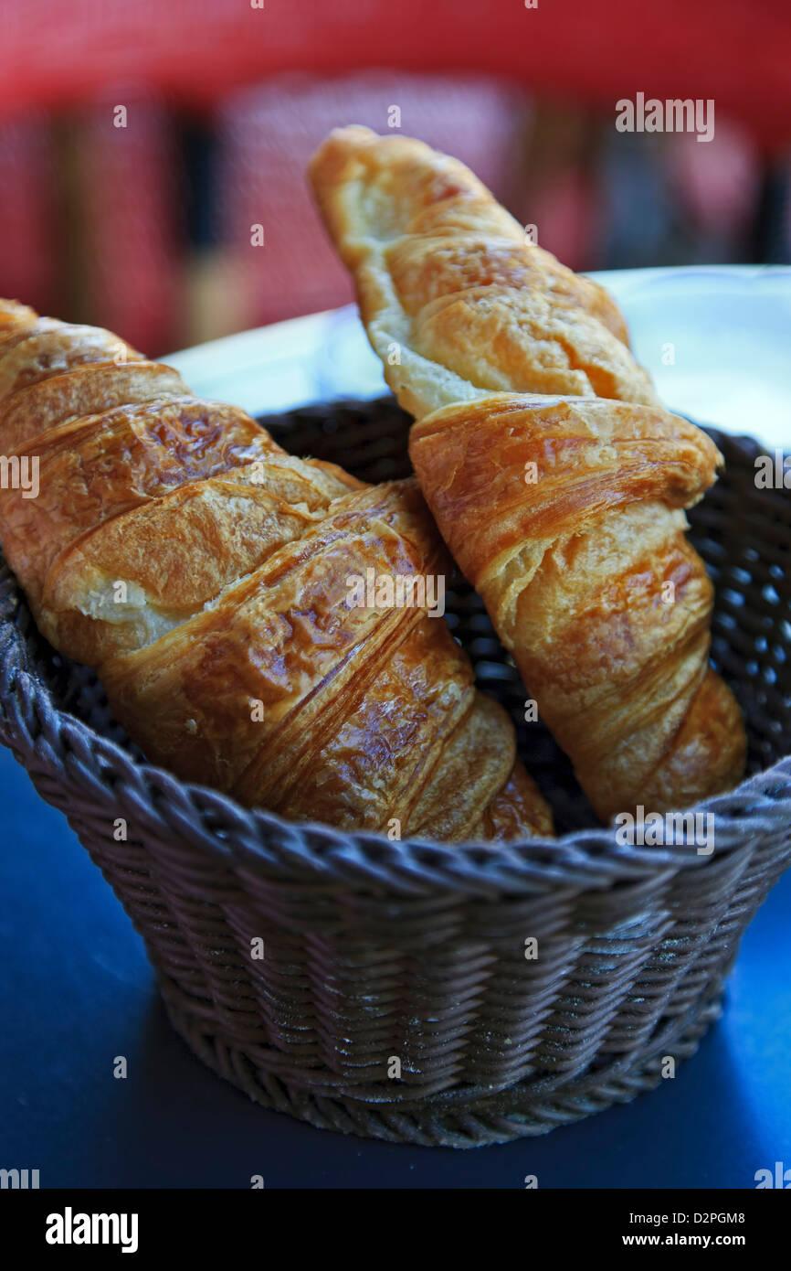 Croissants, Paris, France - Stock Image