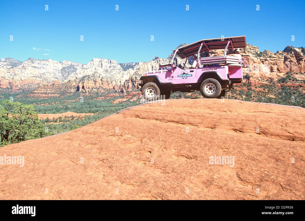 Popular Pink Jeep Tours Take Visitors Into The Ruggedly Beautiful Red Rock  Country Around Sedona,