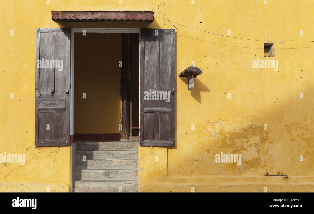 A public toilet, Ancient Town, Hoi An, Vietnam, Indochina, Southeast Asia, Asia - Stock Image