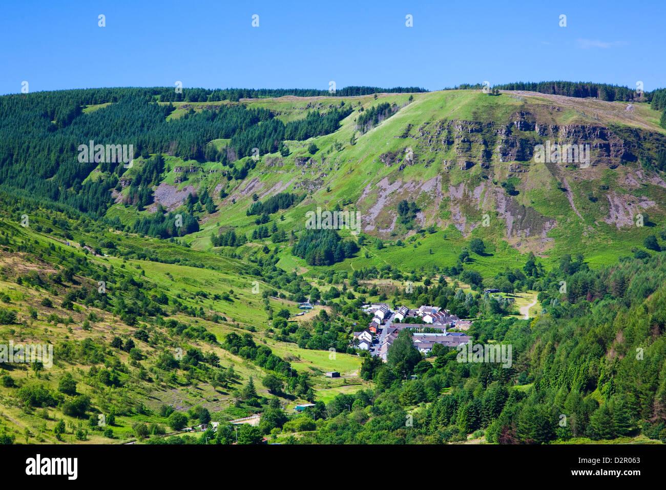 Blaencwm, Blaen Rhondda, Rhondda Valley, Glamorgan, Wales, United Kingdom, Europe - Stock Image