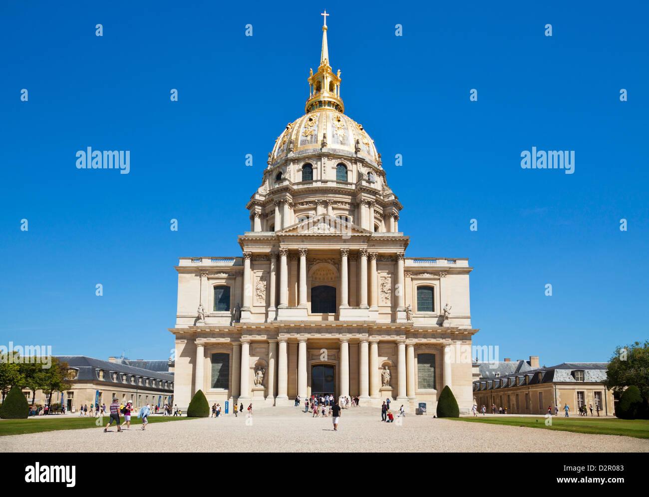 Eglise du Dome, Les Invalides, Paris, France, Europe - Stock Image