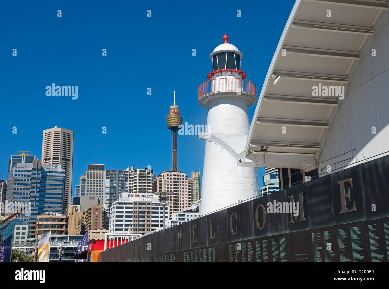 Darling Harbour, Sydney, New South Wales, Australia, Pacific - Stock Image