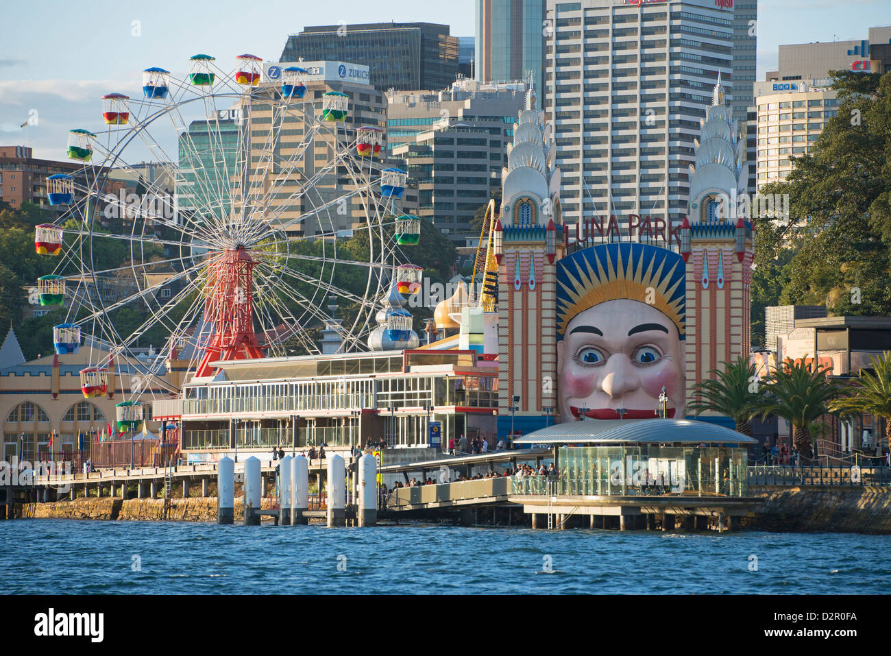 Luna Park, Sydney, New South Wales, Australia, Pacific - Stock Image