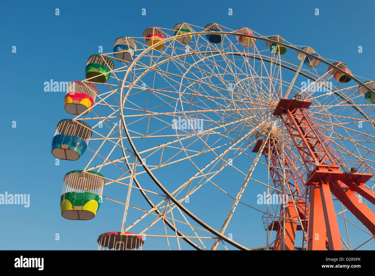 Ferris wheel, Luna Park, Sydney, New South Wales, Australia, Pacific Stock Photo