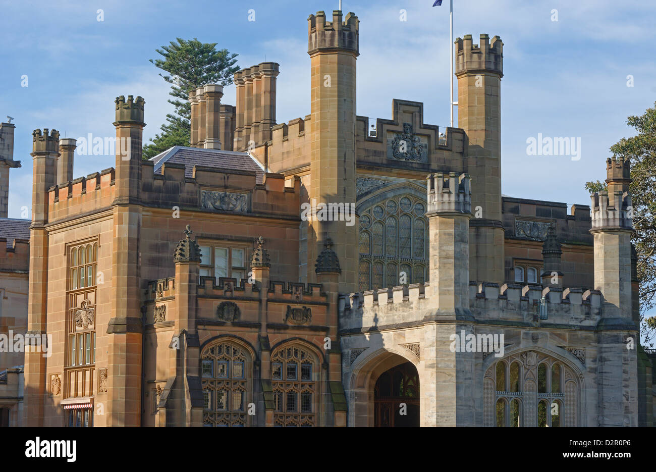 Government House, Sydney, New South Wales, Australia, Pacific - Stock Image