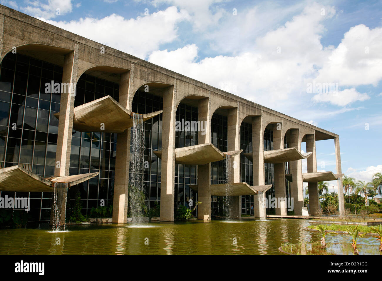 Palacio da Justica, Brasilia, UNESCO World Heritage Site, Brazil, South America - Stock Image