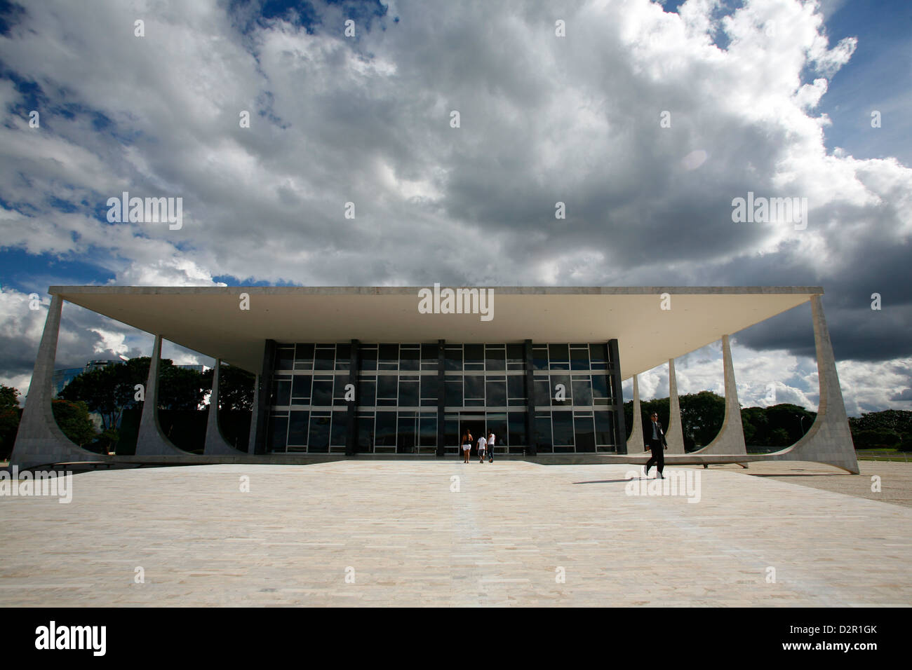 Supremo Tribunal Federal (Supreme Federal Tribunal), Brasilia, UNESCO World Heritage Site, Brazil, South America - Stock Image