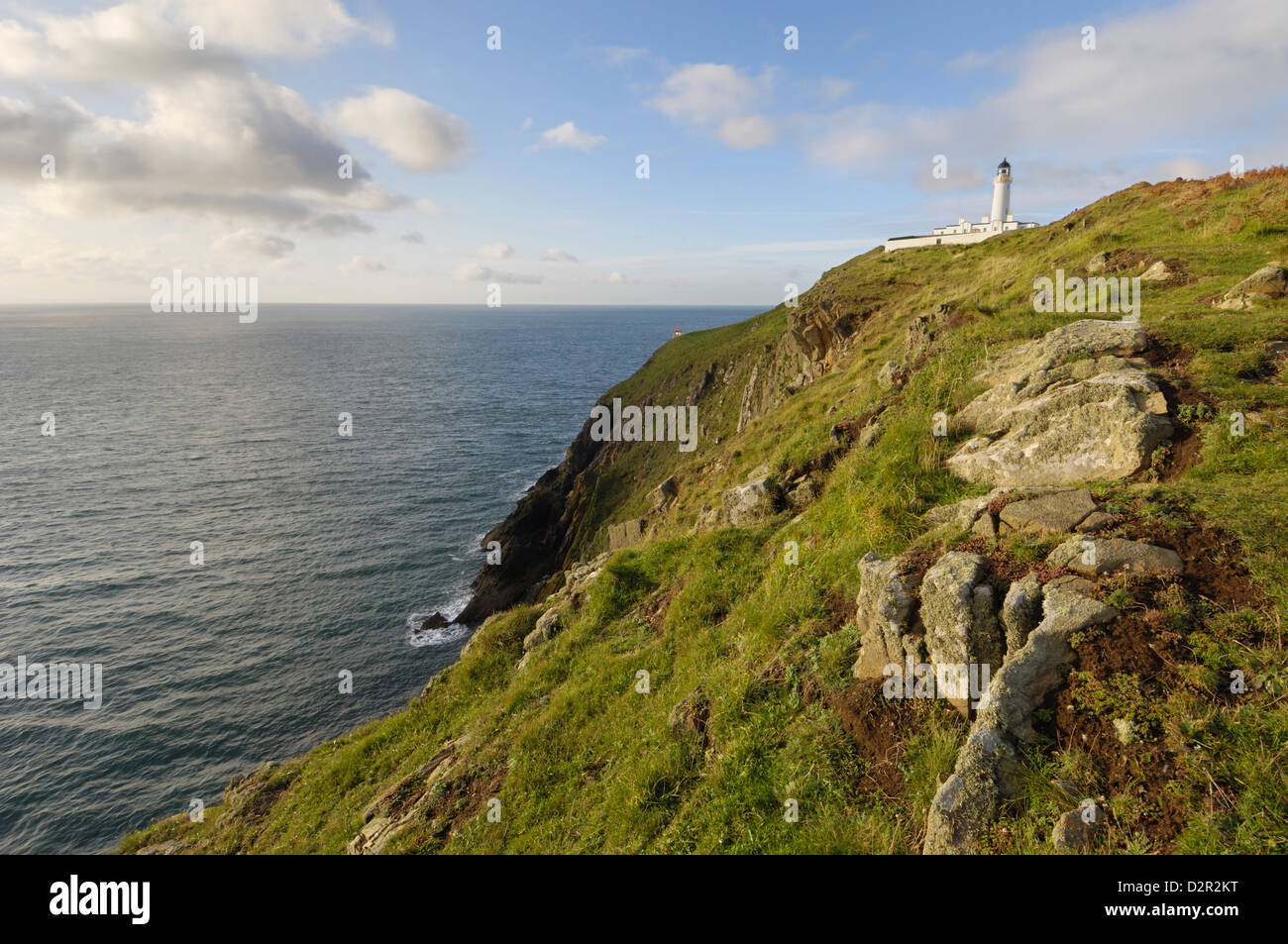 Mull of Galloway, Scotland's most southerly point, Rhins of Galloway, Dumfries and Galloway, Scotland, United Kingdom, Stock Photo
