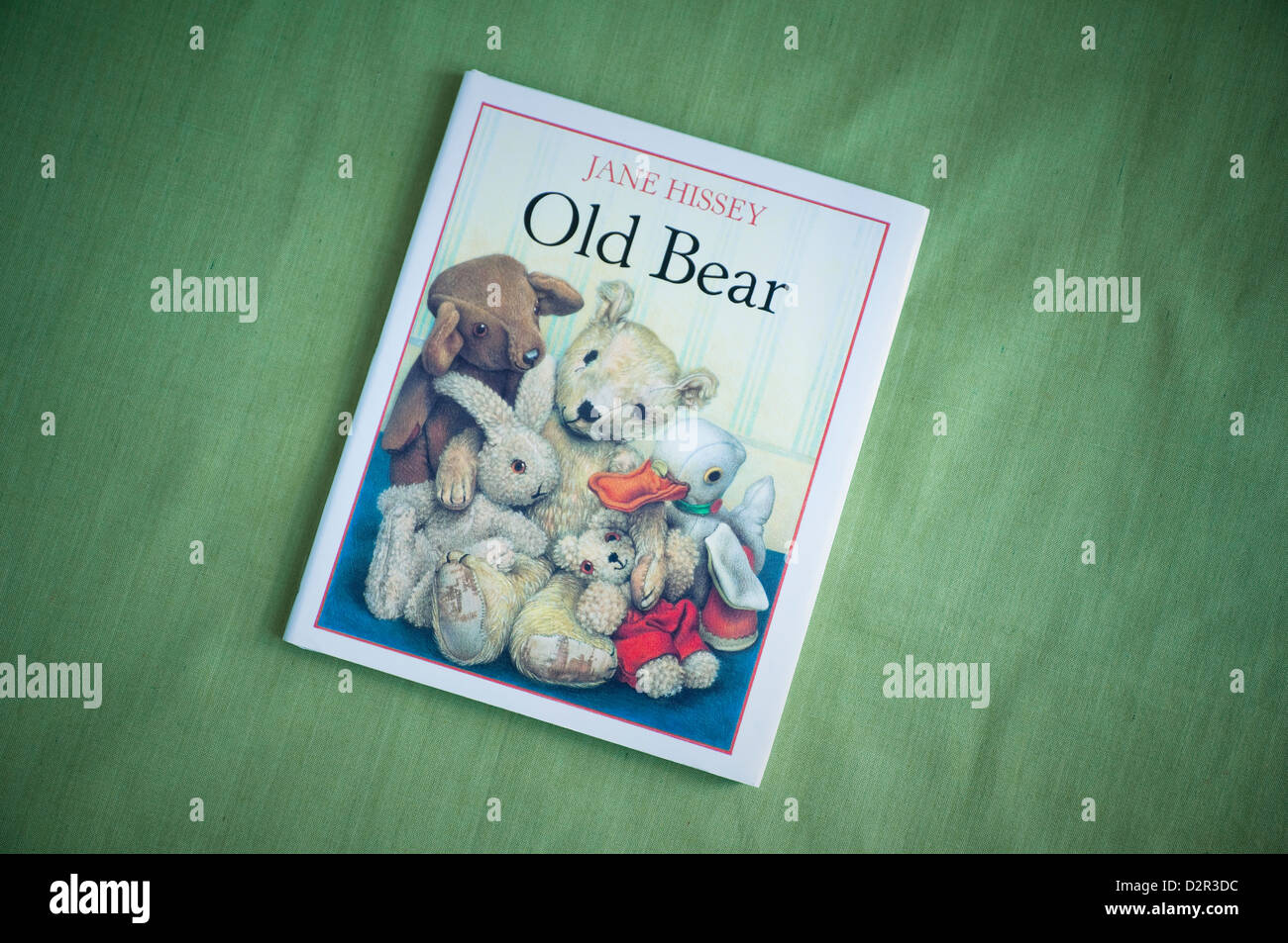 Old Bear by Jane Hissey - Stock Image