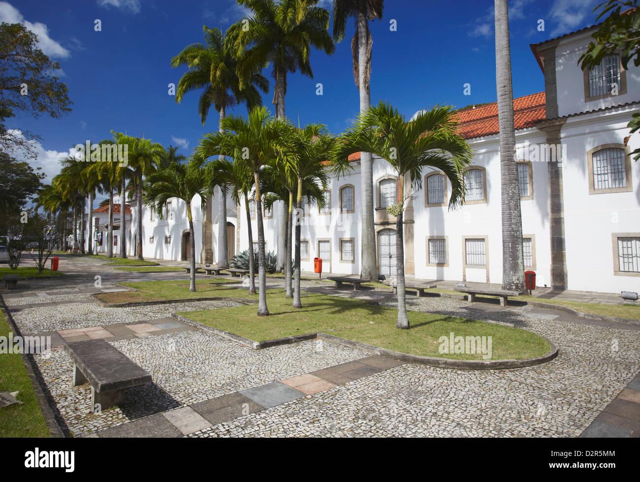 National History Museum, Centro, Rio de Janeiro, Brazil, South America - Stock Image