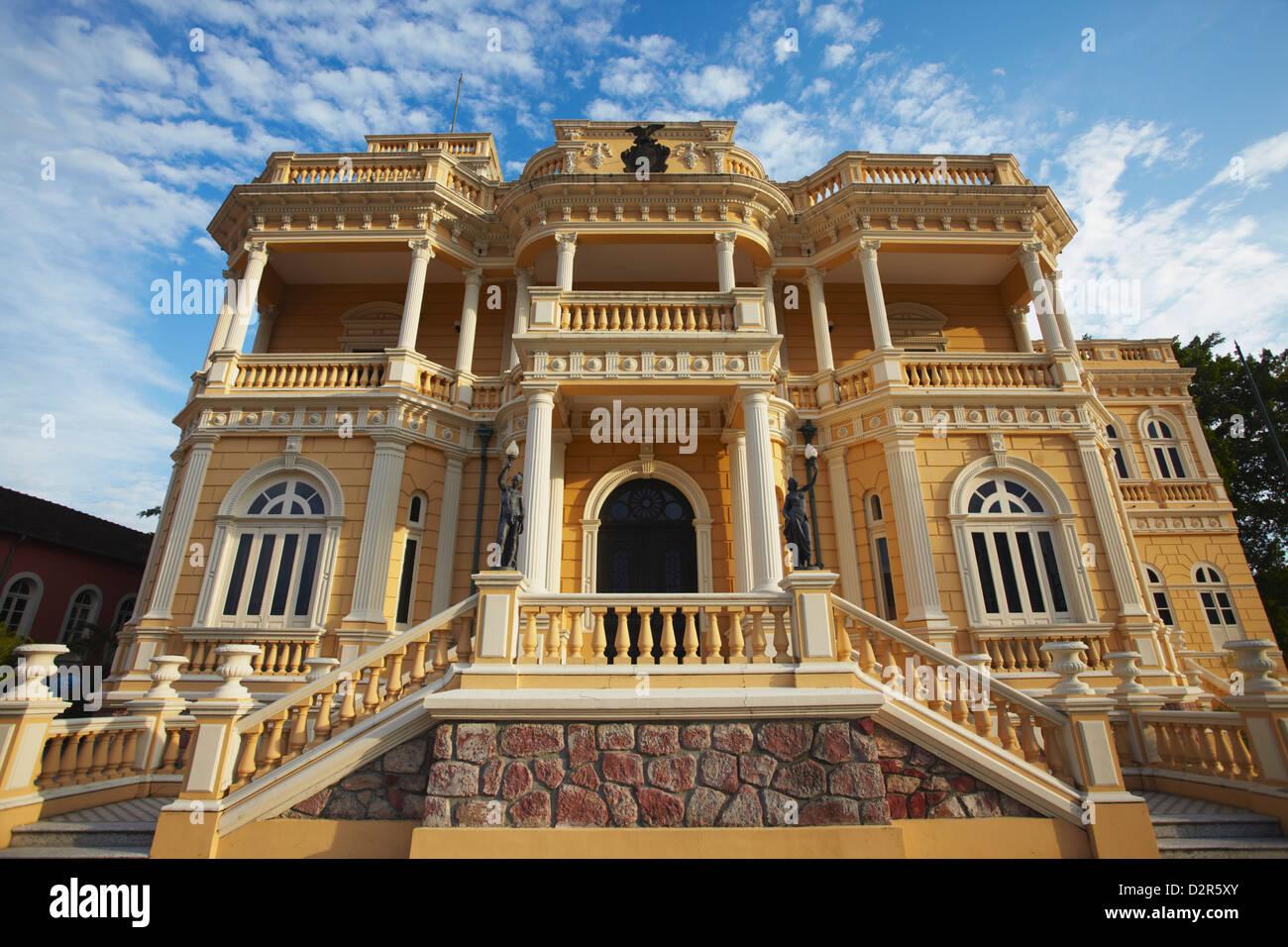 Palacio Rio Negro, Manaus, Amazonas, Brazil, South America - Stock Image