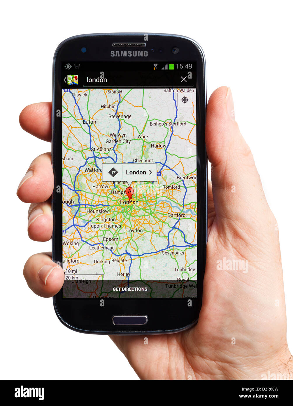 Google maps on an Android smartphone mobile phone smart ... on google maps android, iphone 5 mobile phone, google maps for car, nexus 7 mobile phone, google nexus mobile phone, google boost mobile phone, galaxy s4 mobile phone, google maps iphone,