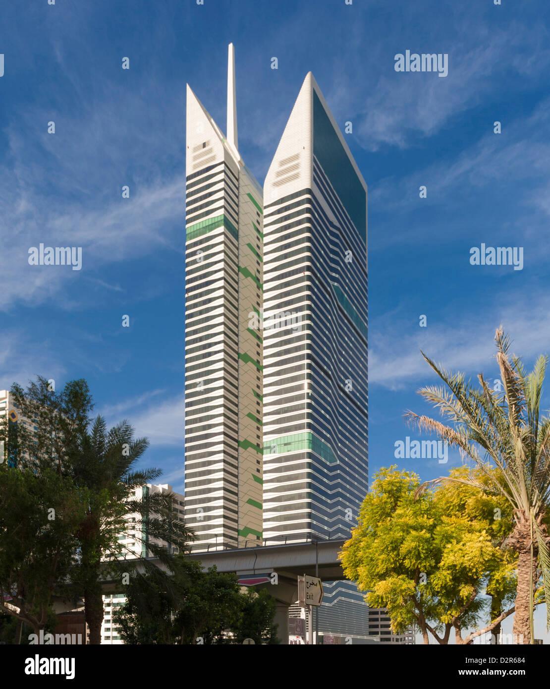 Radisson Royal Hotel, Dubai - Stock Image