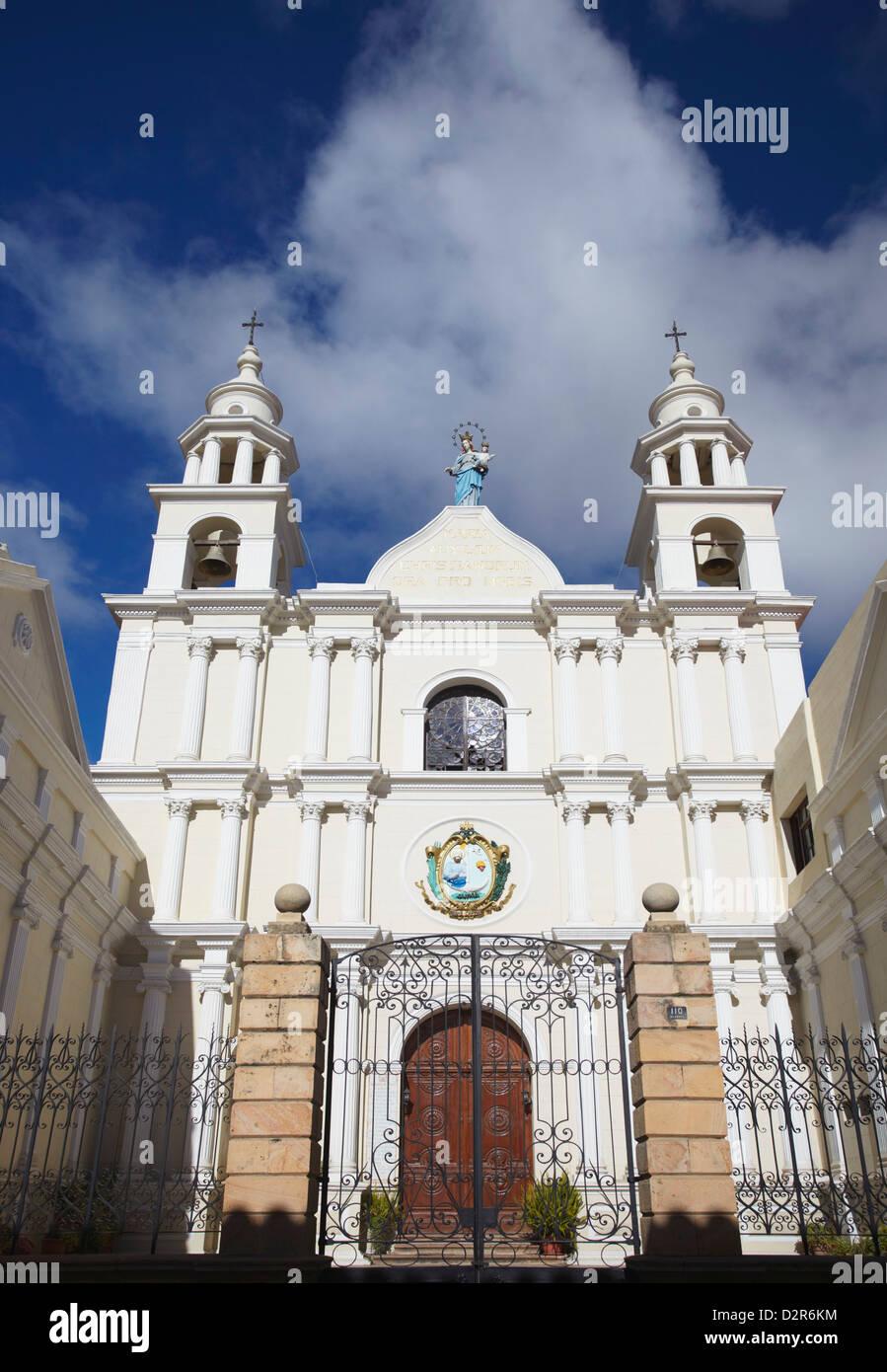 Iglesia Maria Auxiliadora, Sucre, UNESCO World Heritage Site, Bolivia, South America - Stock Image