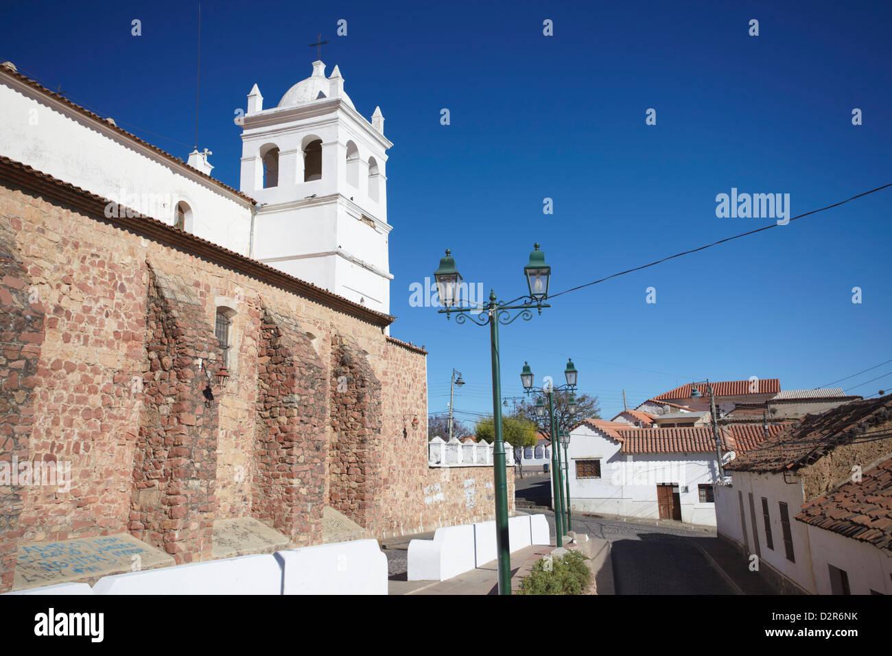 Iglesia de la Recoleta (Recoleta Church), Sucre, UNESCO World Heritage Site, Bolivia, South America - Stock Image