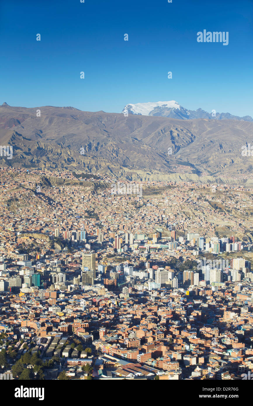 View of La Paz, Bolivia, South America - Stock Image