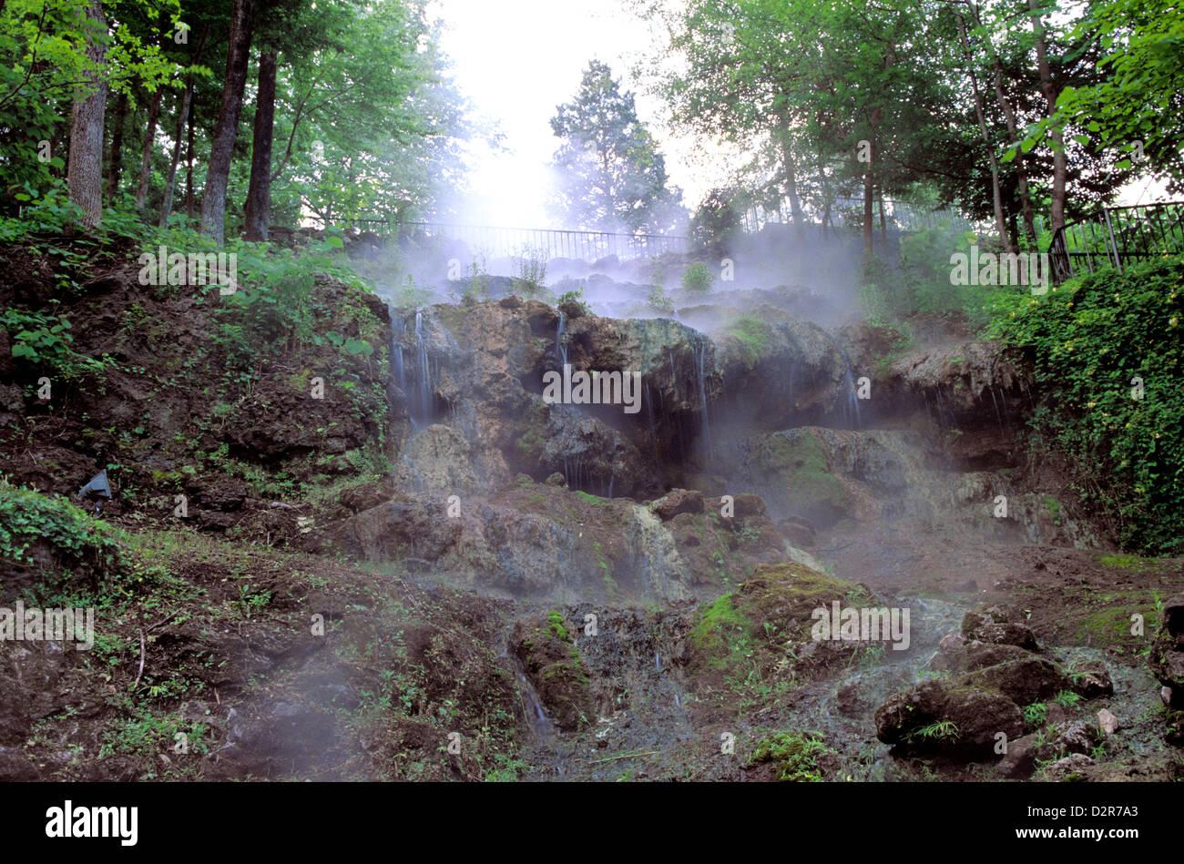 Hot Springs National Park, Arkansas Stock Photo