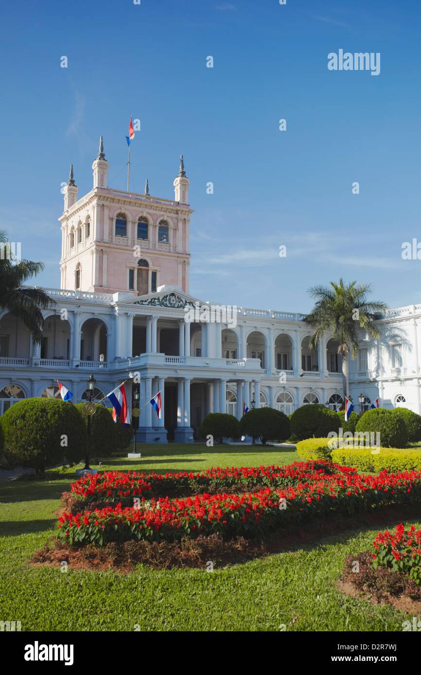 Palacio de Gobierno (Government Palace), Asuncion, Paraguay, South America - Stock Image