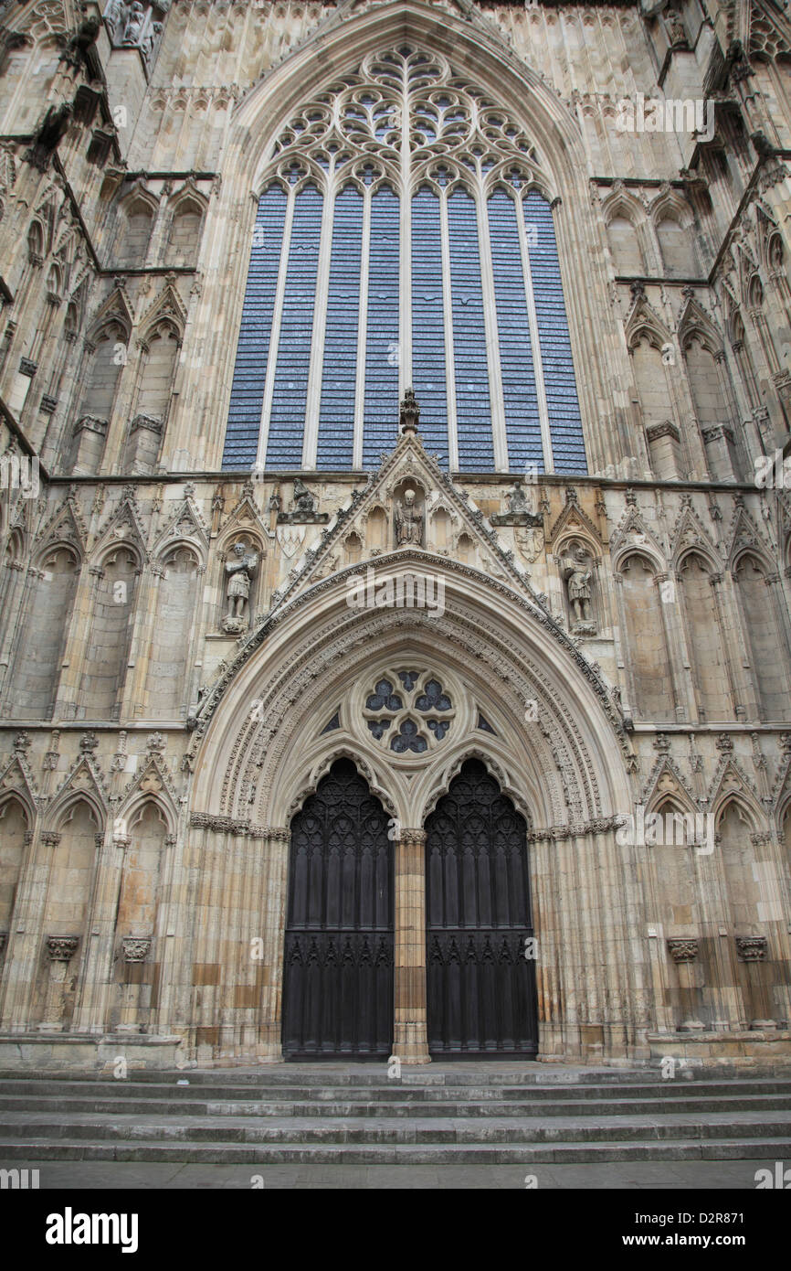 York Minster, York, Yorkshire, England, United Kingdom, Europe - Stock Image