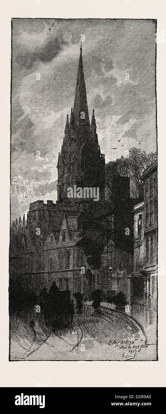 ST. MARY'S, OXFORD, UK - Stock Image