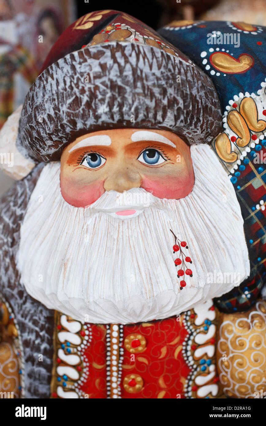 Church-themed matryoshka, Saint-Nicolas, St. Petersburg, Russia, Europe - Stock Image