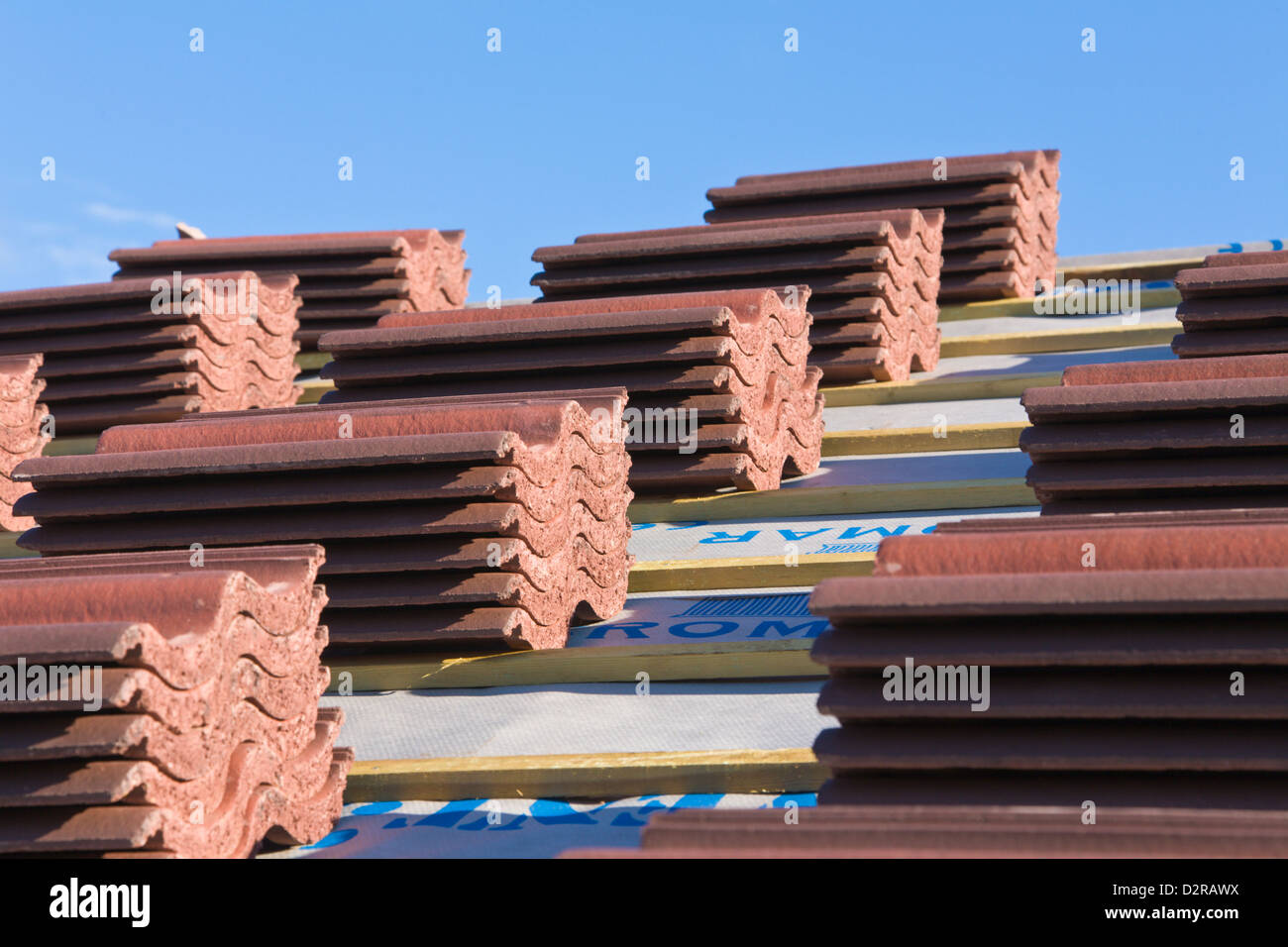 Stack Of Roof Tiles Stock Photos Amp Stack Of Roof Tiles