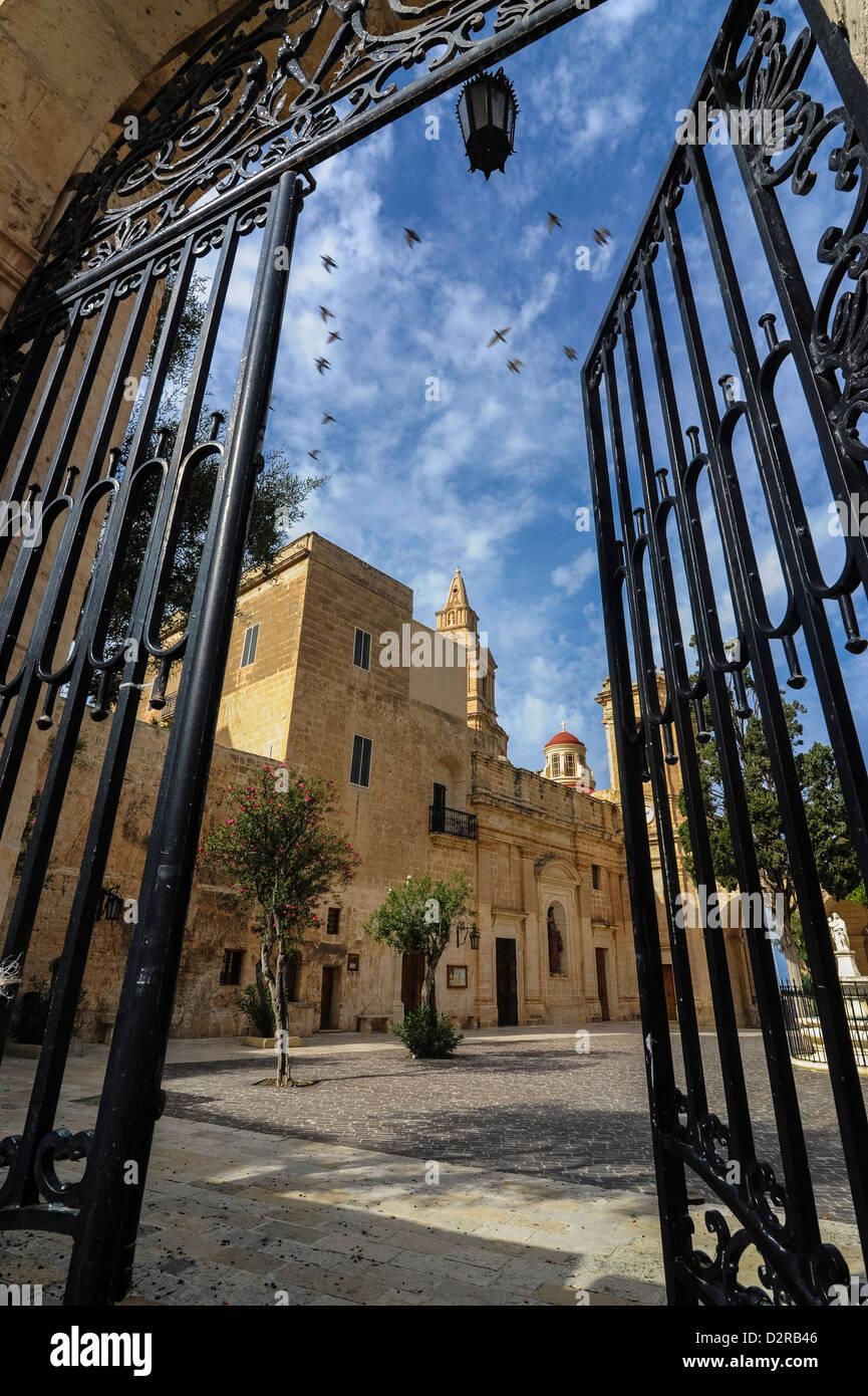 Santa Maria church, Il-Mellieha, Malta, Europe - Stock Image