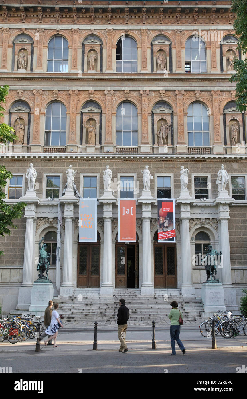 Academy Of Fine Arts In Vienna Stock Photo 53374592 Alamy
