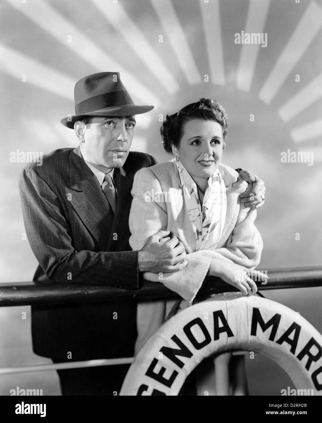 ACROSS THE PACIFIC 1942 Warner Bros film with Mary Astor and Humphrey Bogart - Stock Image
