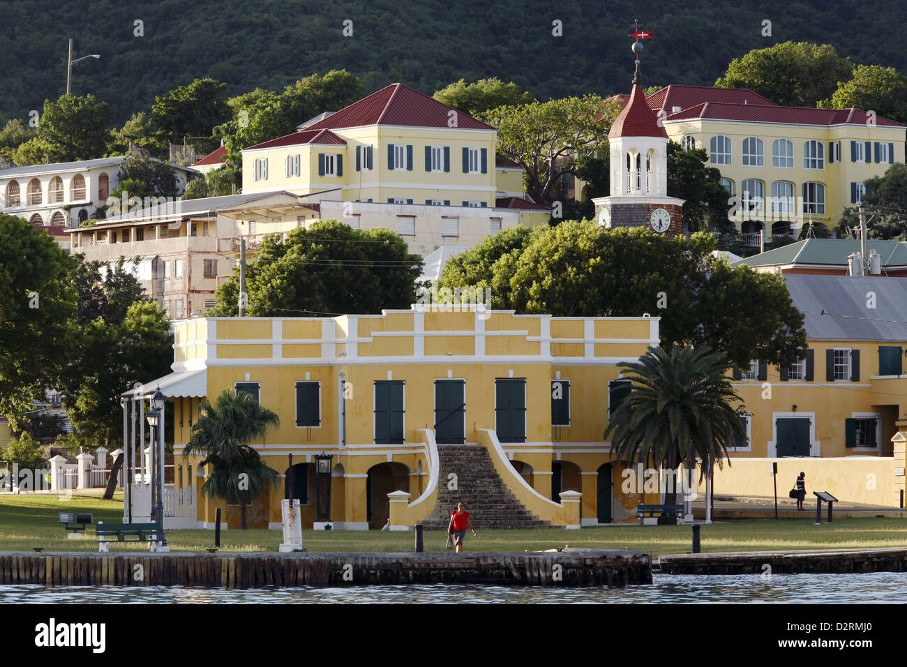 Old Danish Customs House, Christiansted, St. Croix, US .