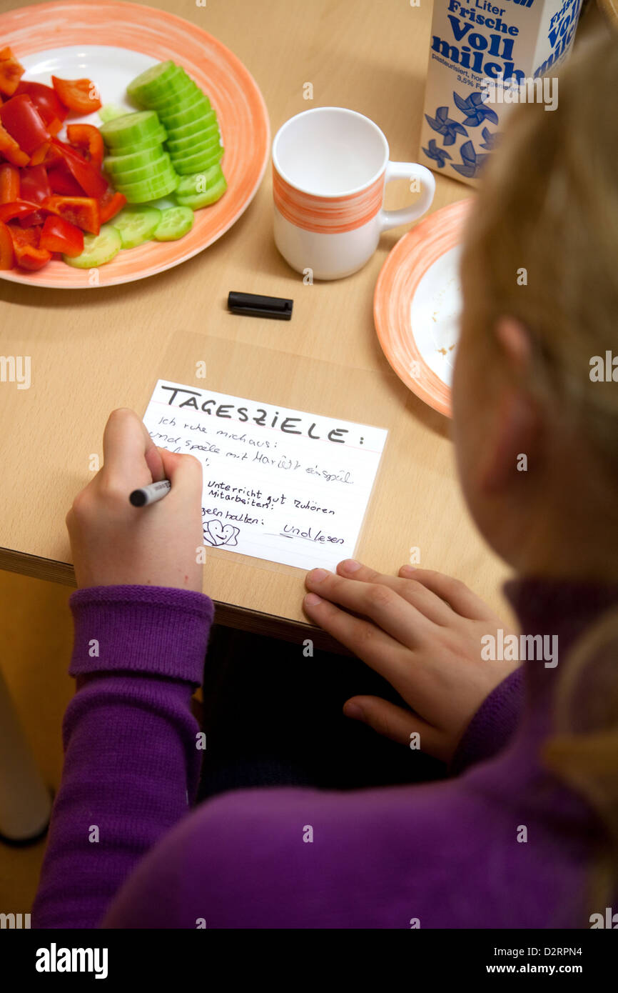 Germany, Clinic for Child and Adolescent Psychiatry - Stock Image