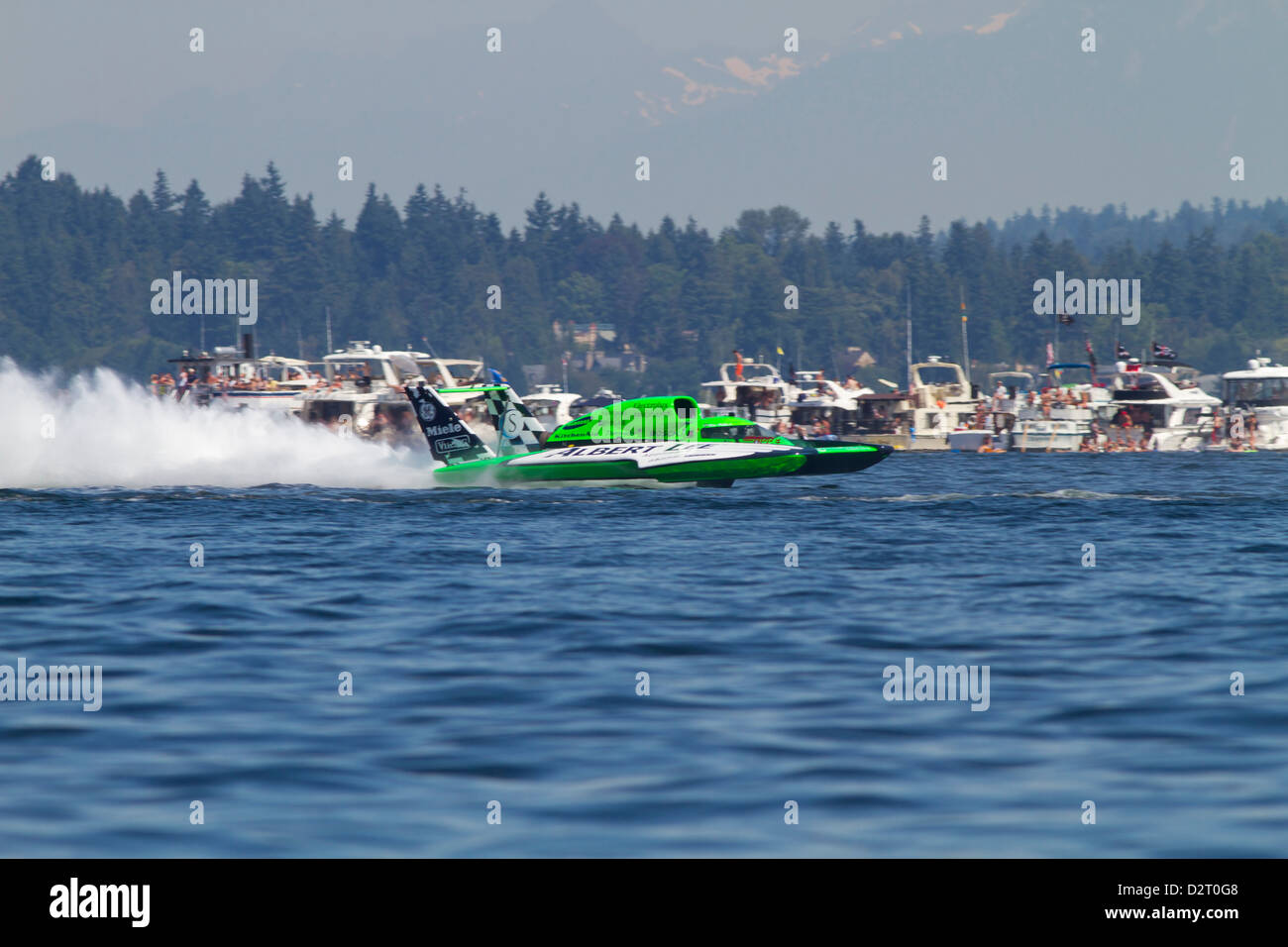 WA, Seattle, Seafair, Unlimited Hydroplane Races, Lake