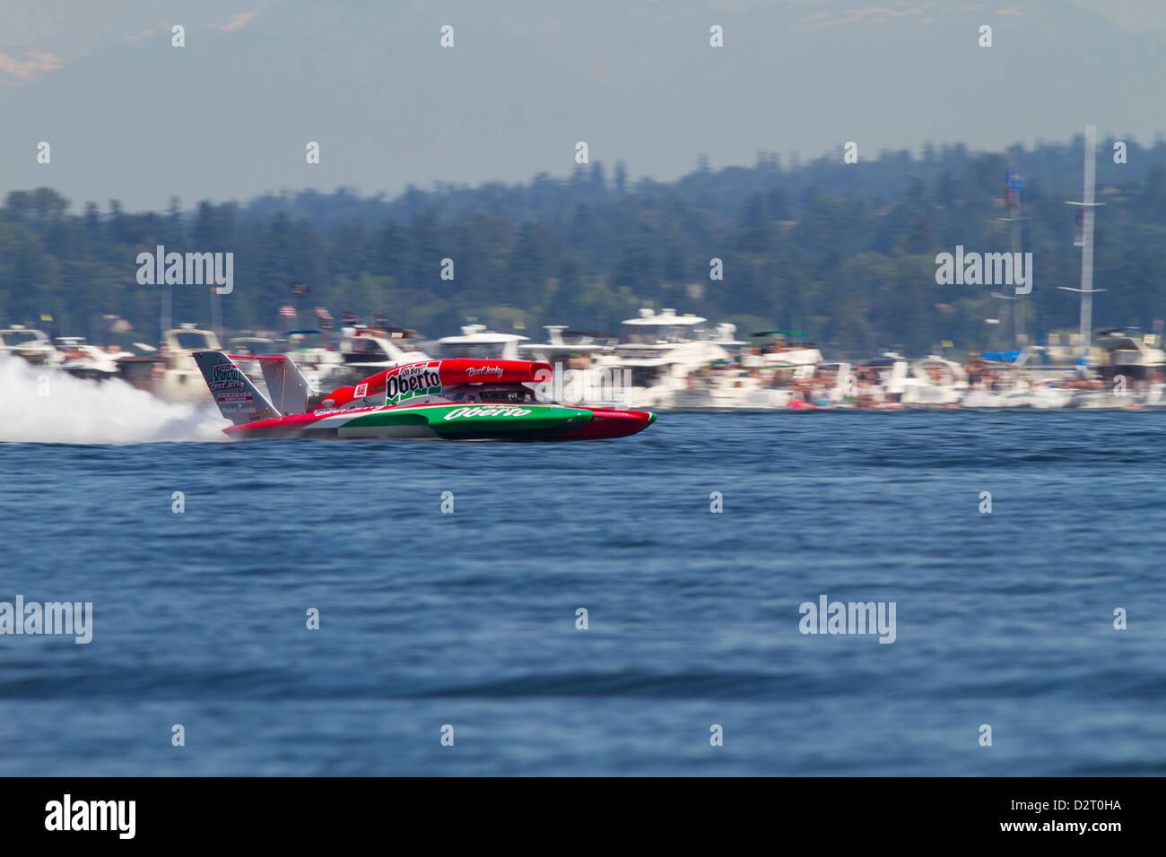 WA, Seattle, Seafair, Unlimited Hydroplane Races, Lake Washington