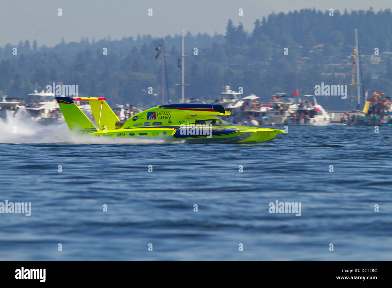 Hydroplane Boat Races Stock Photos & Hydroplane Boat Races