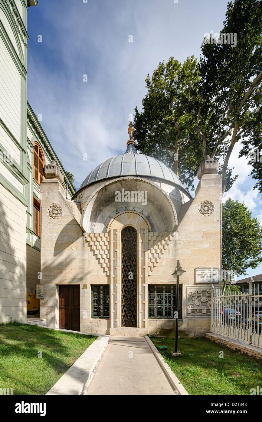 Sheikh Hamza Zafir tomb, Ertugrul Tekke, Yıldız, Beşiktaş
