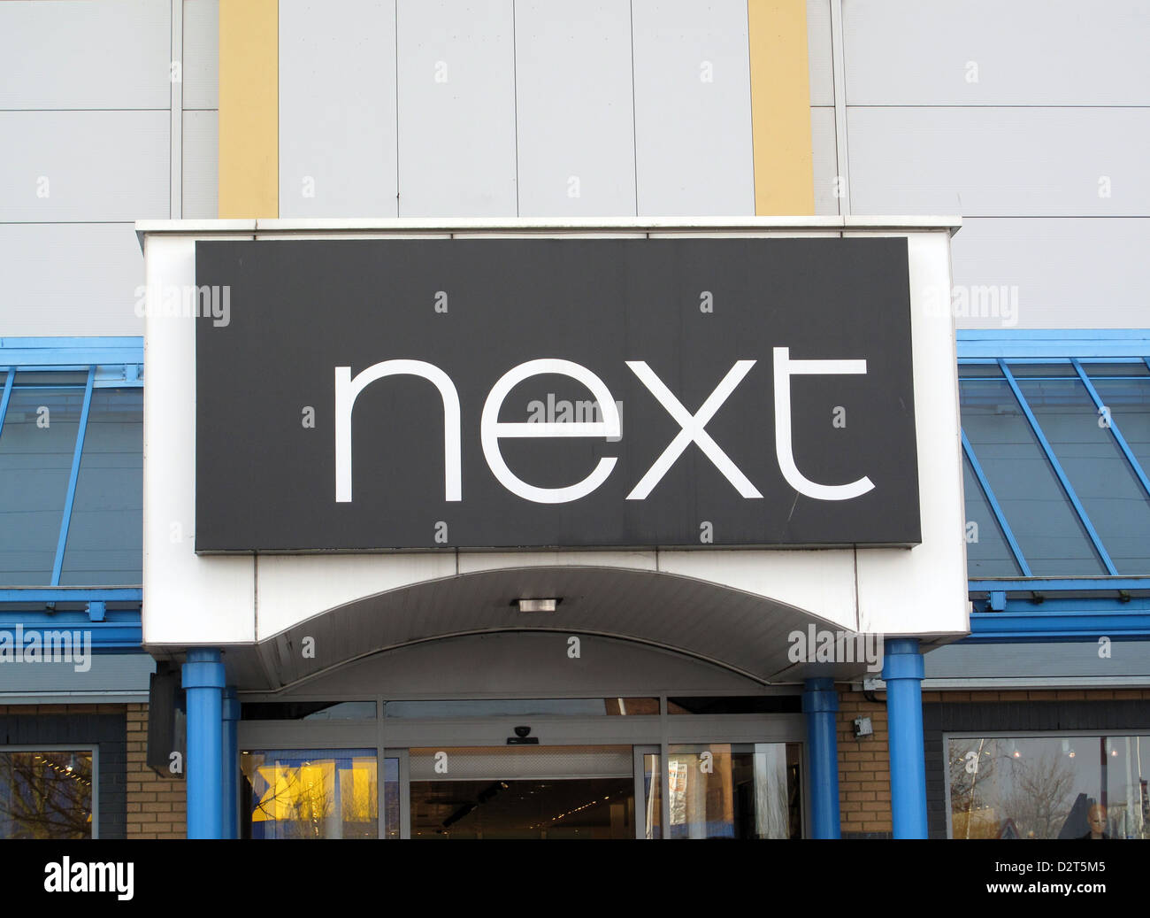 Nrxt clothes store in Croydon Surrey United Kingdom - Stock Image