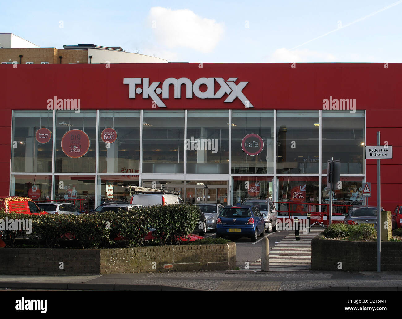 Clothes store TK Maxx in Croydon Surrey UK - Stock Image