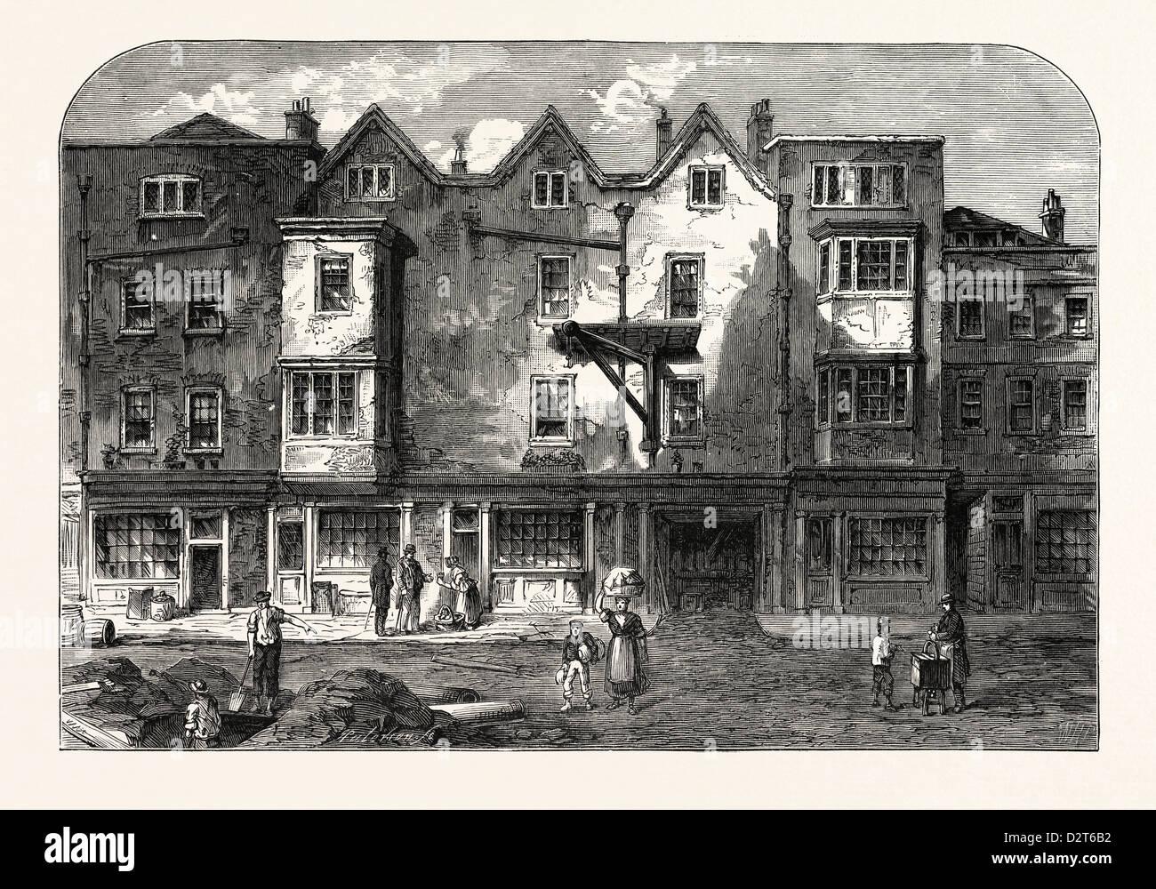 OLDBOURNE HALL SHOE LANE 1823 LONDON Stock Photo