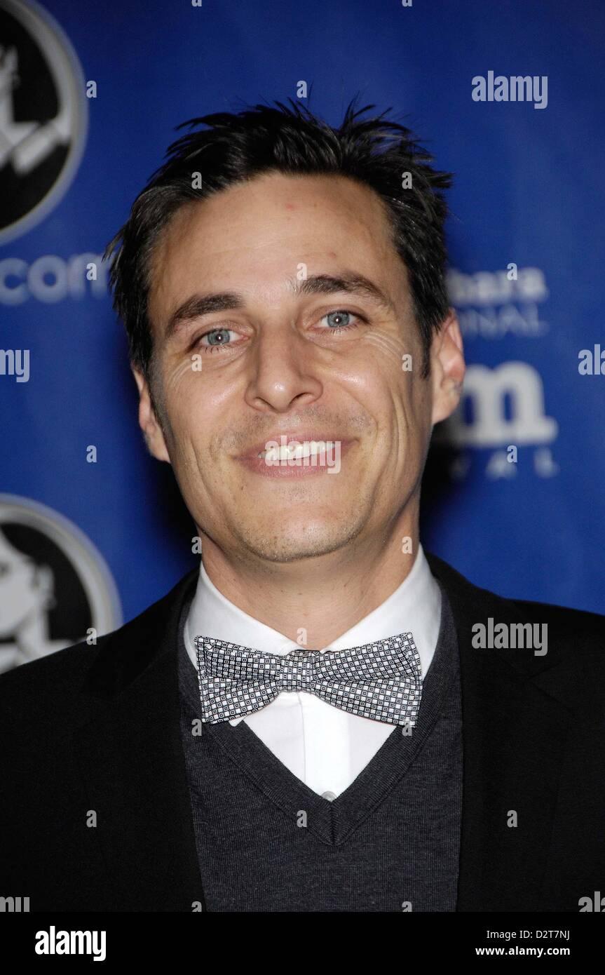 Feb. 1, 2013 - Hollywood, California, U.S. - Michael Mayer during the Santa Barbara International Film Festival's - Stock Image