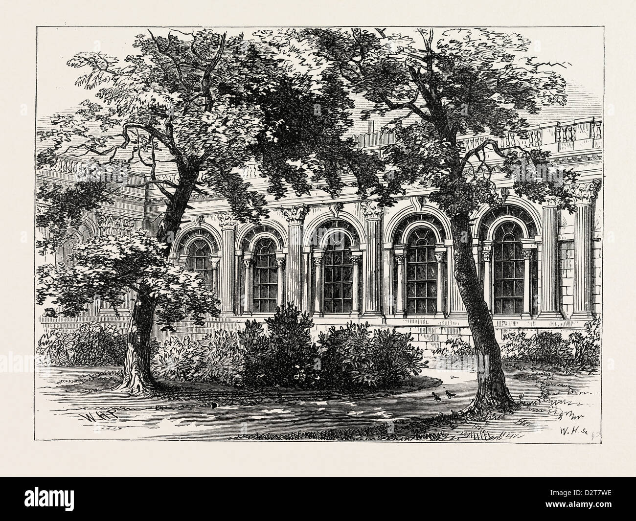 THE BANK PARLOUR EXTERIOR VIEW LONDON - Stock Image