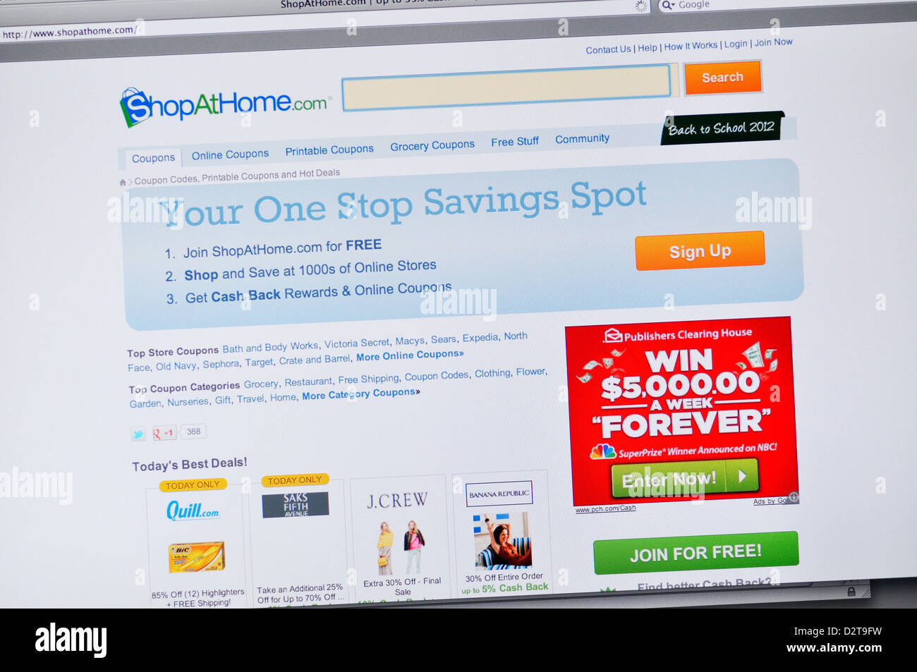 picture about At Home Coupon Printable referred to as Keep At Household web - On the net printable grocery coupon codes and