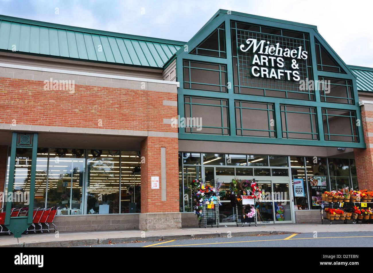 Michaels Craft Store Avon Connecticut Usa Stock Photo 53398569