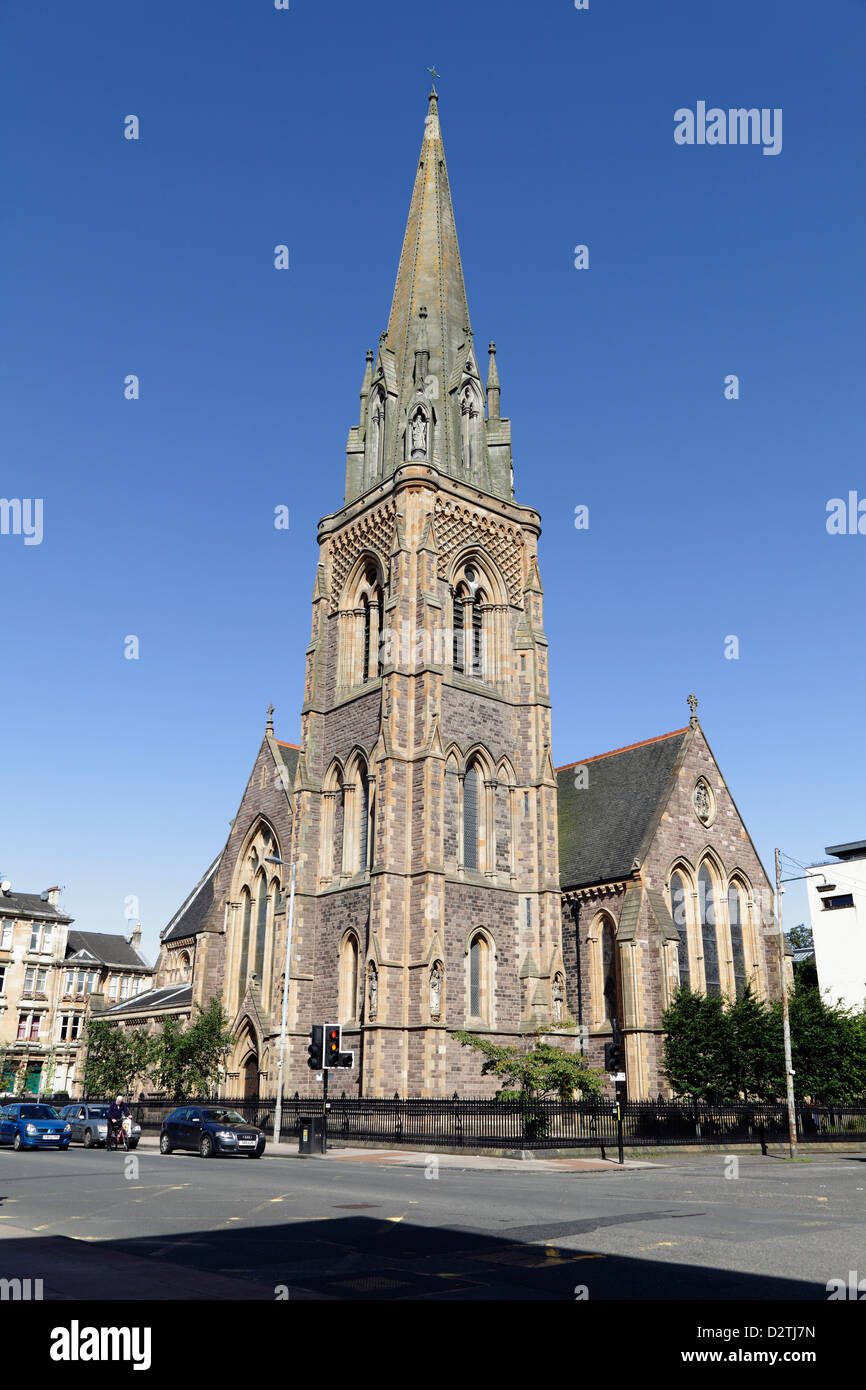 St Mary's Episcopal Cathedral in Glasgow, Scotland, UK - Stock Image