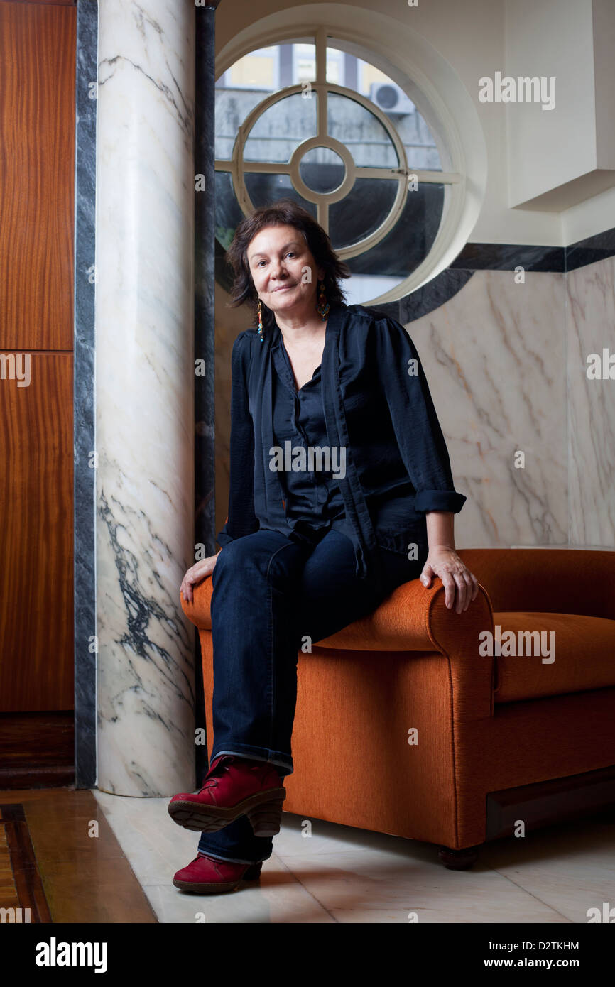 Spanish writer Clara Sanchez. - Stock Image