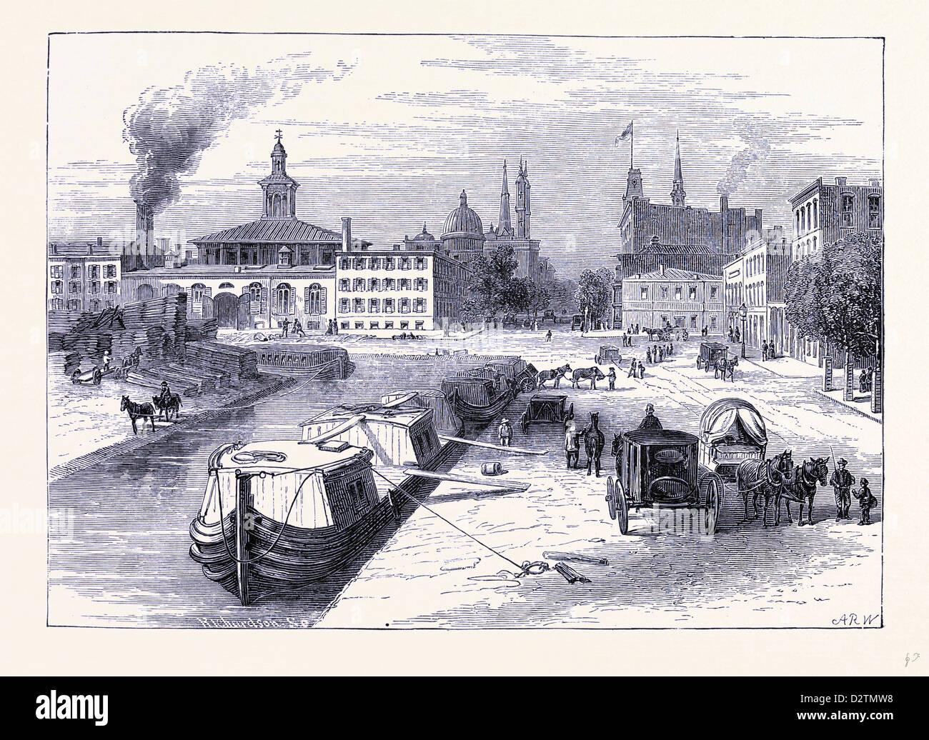 Rheine United States of America - Stock Image