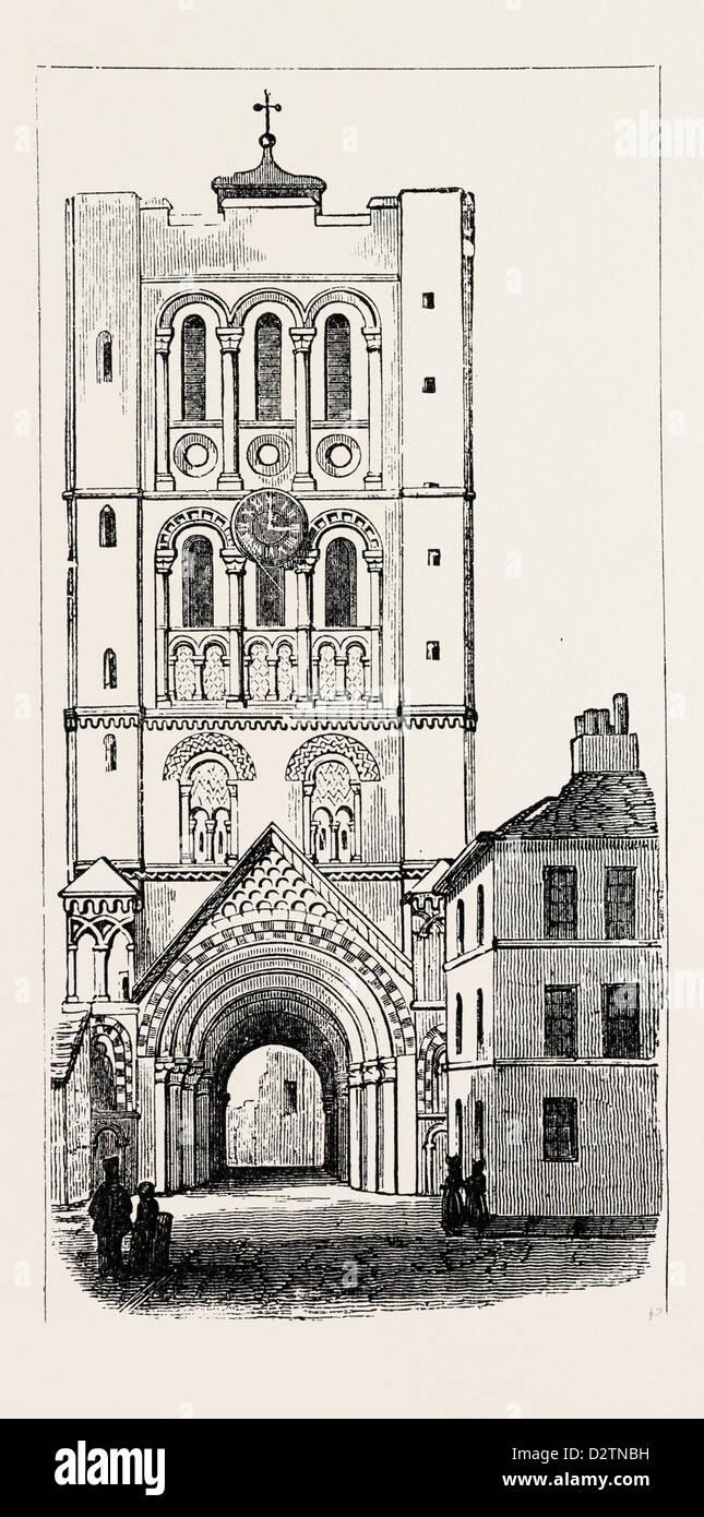 ABBEY GATE BURY ST. EDMUNDS - Stock Image