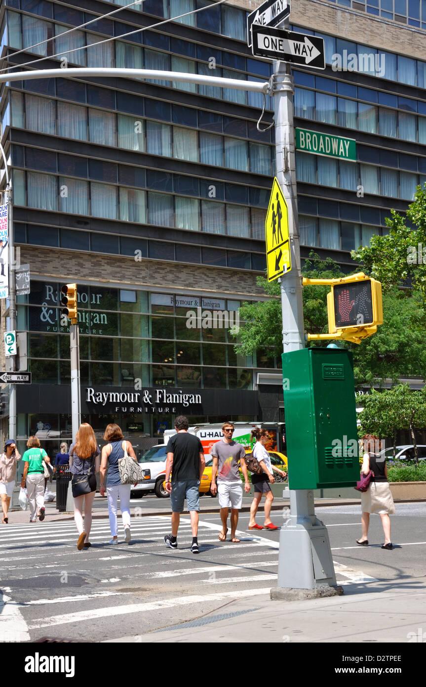 Traffic control box, New York City, USA Stock Photo: 53404918 - Alamy