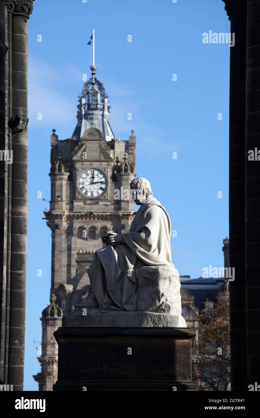 Scott Monument, Edinburgh Stock Photo