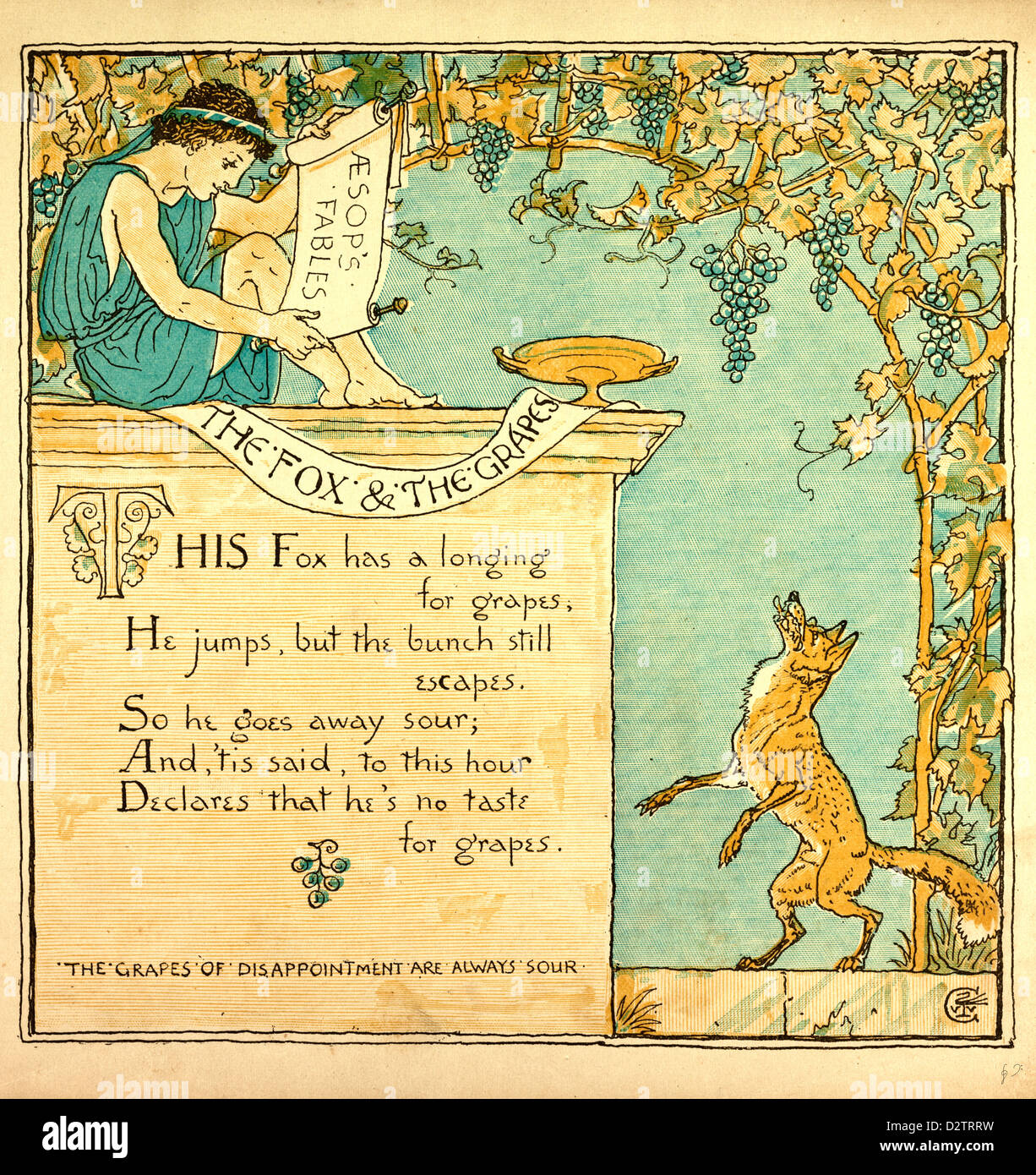 the fox and the grapes fable