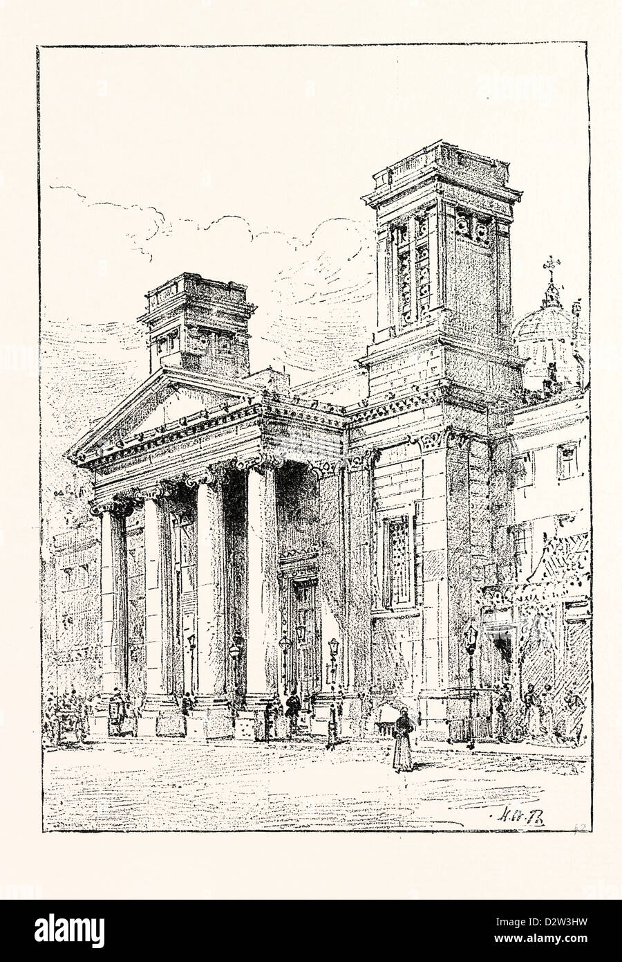HANOVER CHAPEL REGENT STREET LONDON Which it is proposed to demolish UK - Stock Image
